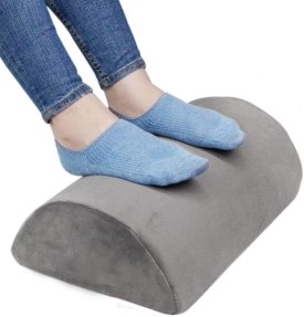 Gift Ideas For People Who Work From Home: desk foot rest