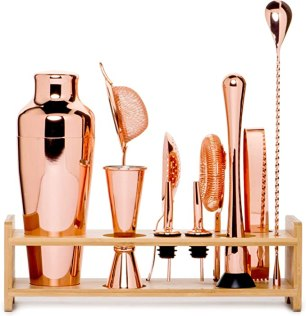 housewarming present idea: bar tending set