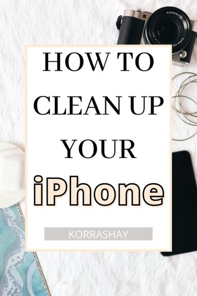 how to organize your phone  // how to clean up your iphone