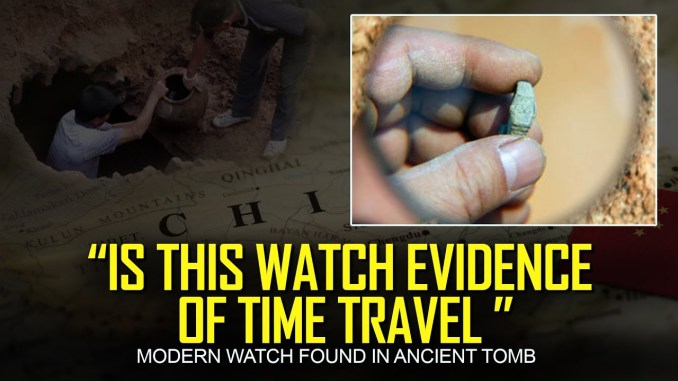 A Swiss Made Watch Found in A Sealed Ming Dynasty Tomb