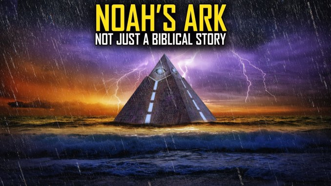 2000 Year Old Dead Sea Scrolls Reveal that Noah's Ark Was Shaped Like a Pyramid