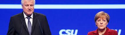 Inszenierung eines Scheinkonflikts: Seehofer und Merkel auf dem CSU-Parteitag