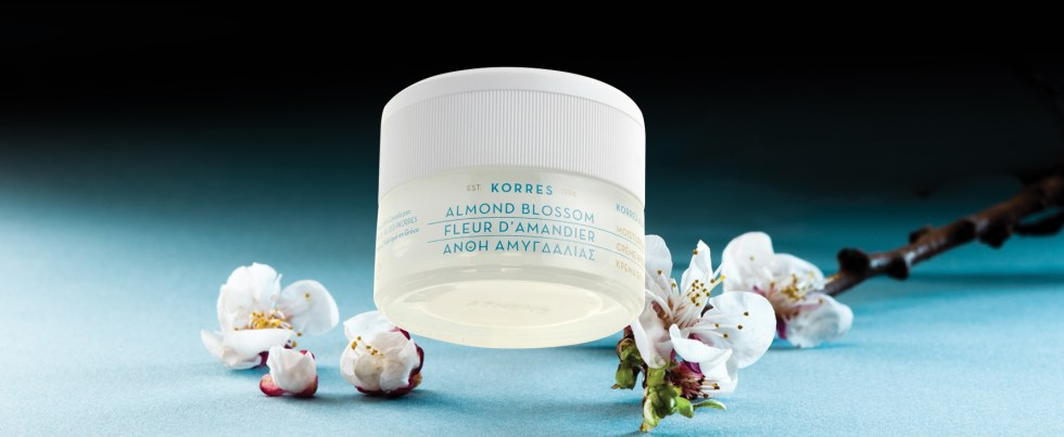 KORRES almond product line