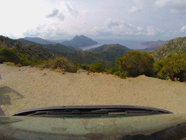 Mit dem Bulli auf Korsika und der goPro auf dem Dach