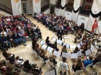 Det blev et brag af en koncert, da de unge talenter spillede så propperne sprang, ved dette års nytårskoncert Alle og en klappede, så det sved i håndfladerne, da de hyldede Slagelse Gardens årlige nytårskoncert i Korsør Kulturhus smukke Marmorsal.