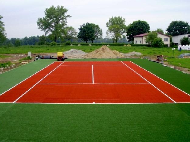 Kort tenisowy Glob Grass