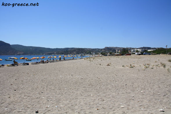 Southern coast of Kos Island beach photo