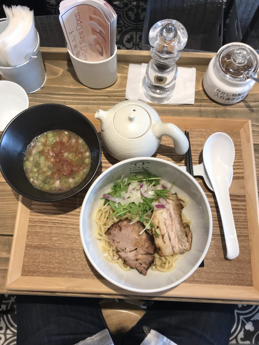 案山子 - 煮干しつけめん(ゆず風味)