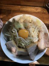 麺処 MAZERU 肉増しまぜそば(醤油)