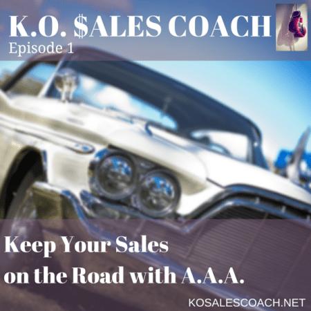 AAA sales control