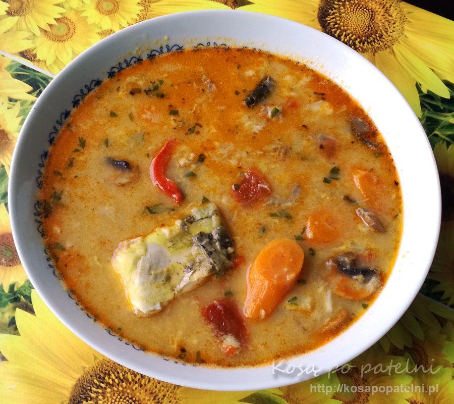 Zupa rybna z karpia