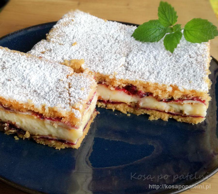 Ciasto z kremem budyniowym