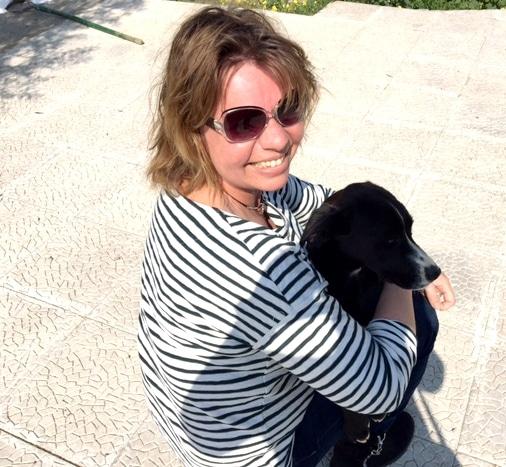 ich mit ARK Hund
