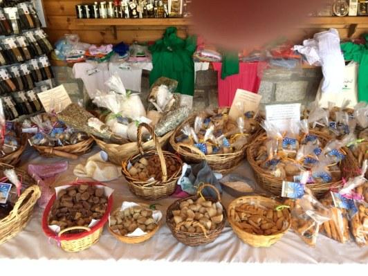 Auswahl an selbstgebackenen Keksen