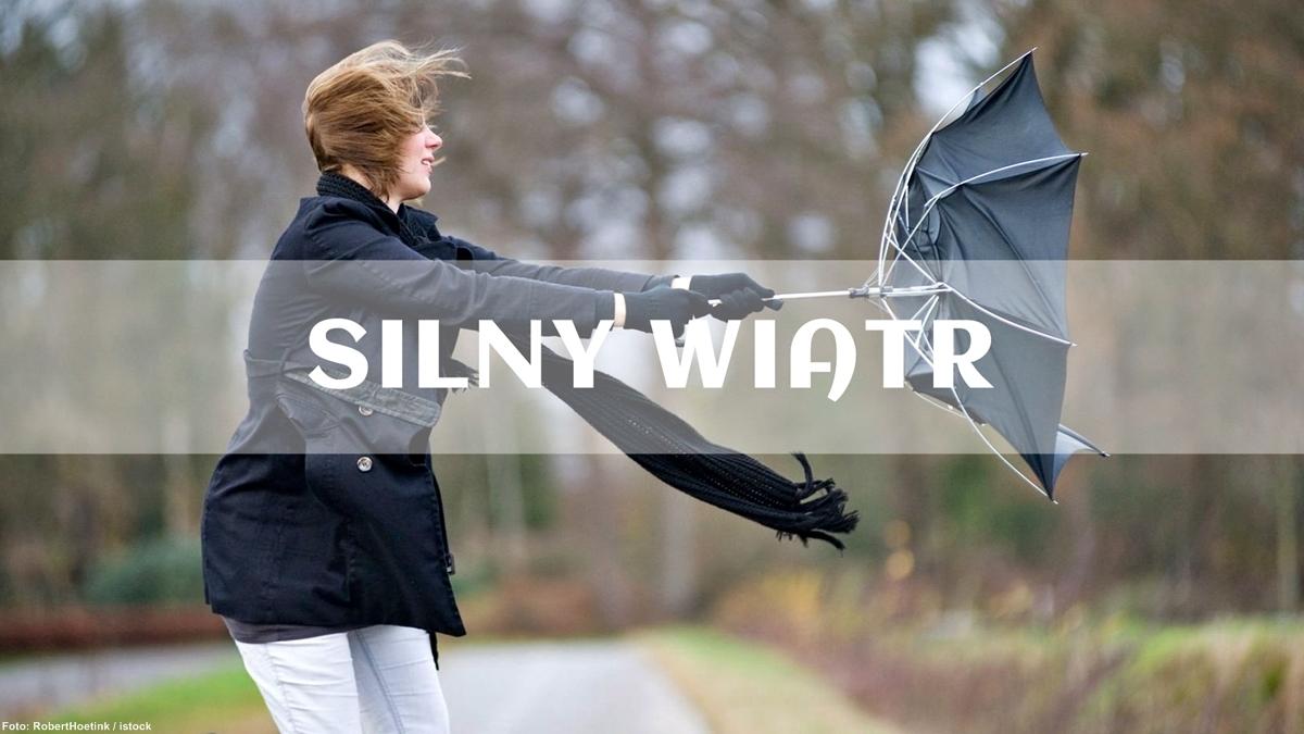 Ostrzeżenie meteorologiczne - gwałtowny wiatr