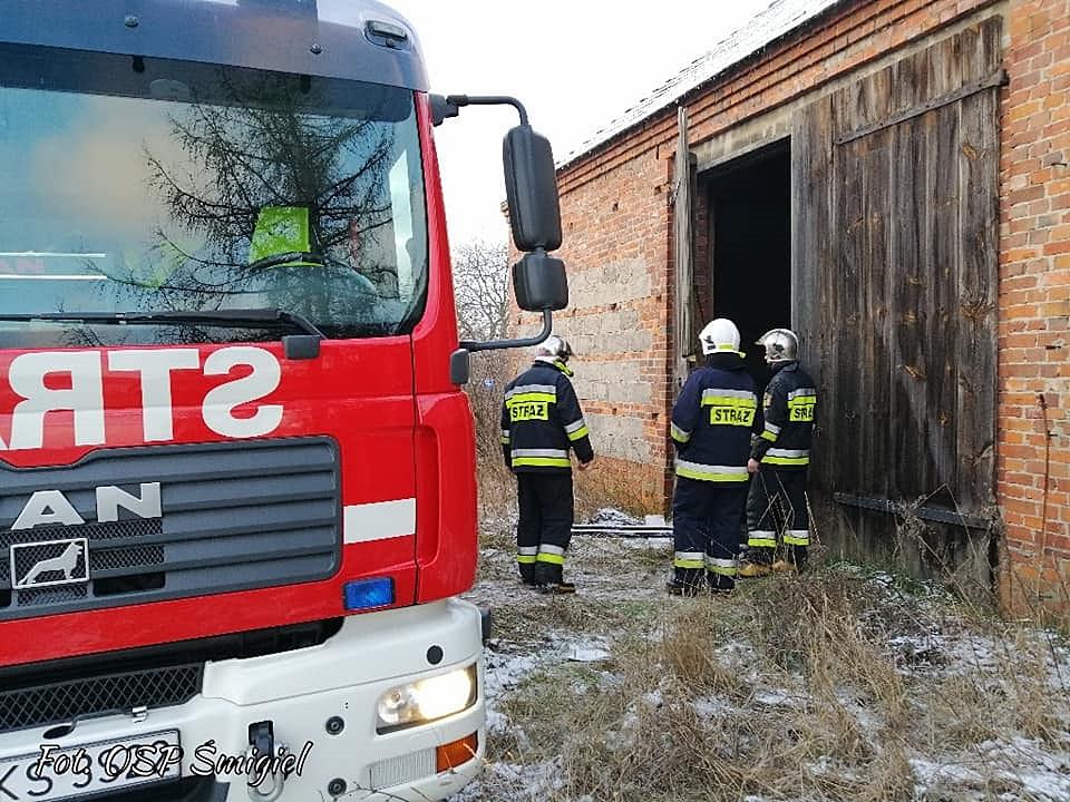 Kolejny pożar stodoły w Wydorowie