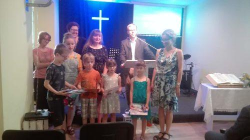 Fotorelacja z zakończenia szkółki i pikniku zborowego