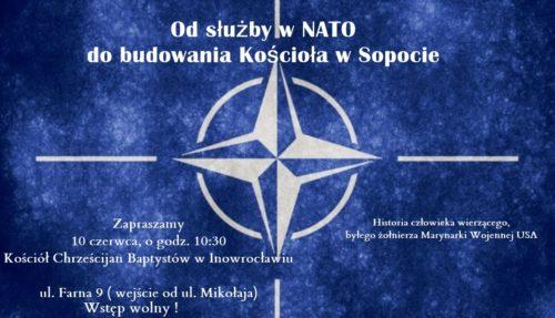 Od służby w NATO do… Zapraszamy na spotkanie pastorem Krzysztofem Osieckim