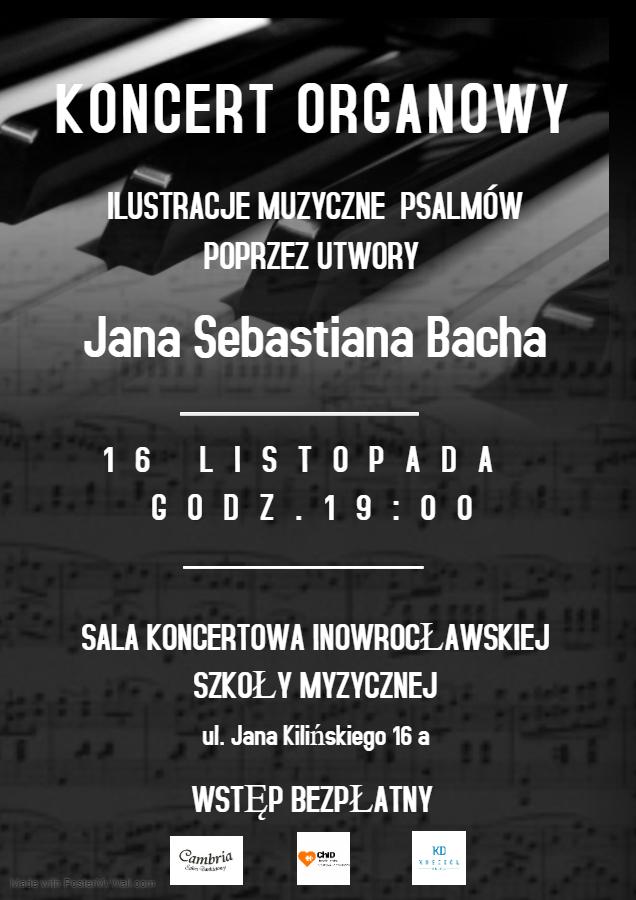 Zaproszenie na Koncert Organowy