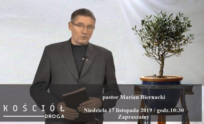 Gość pastor Marian Biernacki, zapraszamy!