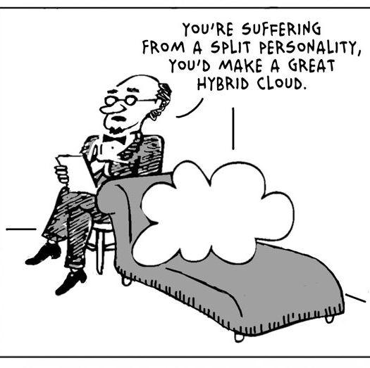 Cloud, šizofrenik?