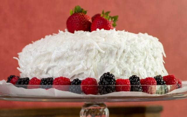 Coconut Lemon Layer Cake