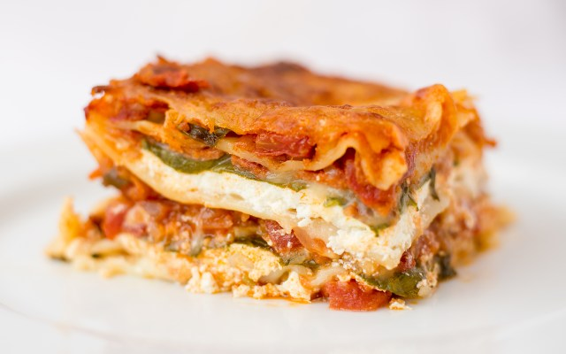 Spinach and Cheese Lasagne