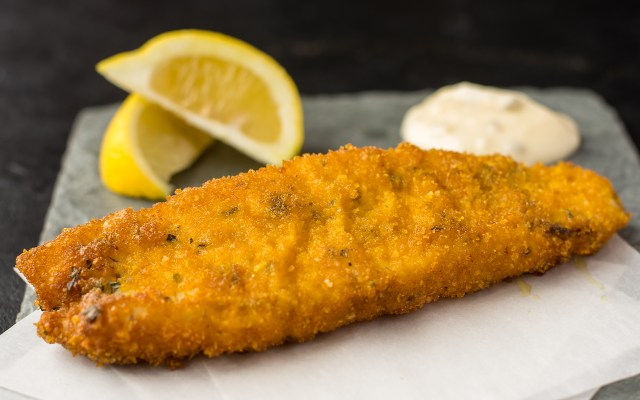 Herbed Fried Fish