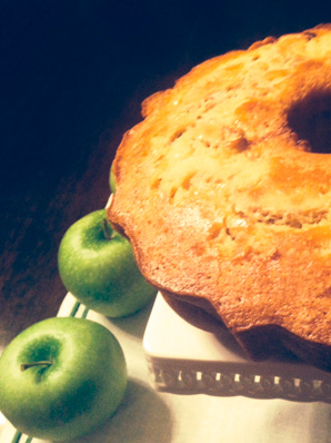 Passover Apple Bundt Cake
