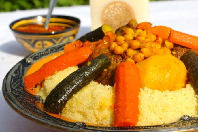 Couscous is delicious in look and taste