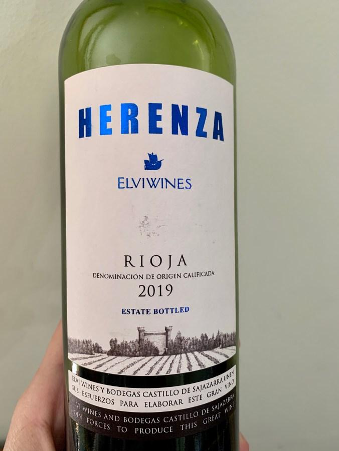 2019 Elvi Herenza Rioja Semi-Crianza