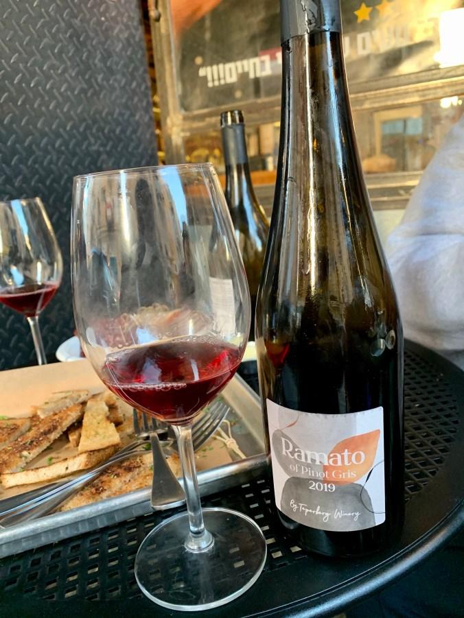 2019 Ramato of Pinot Gris by Teperberg Winery