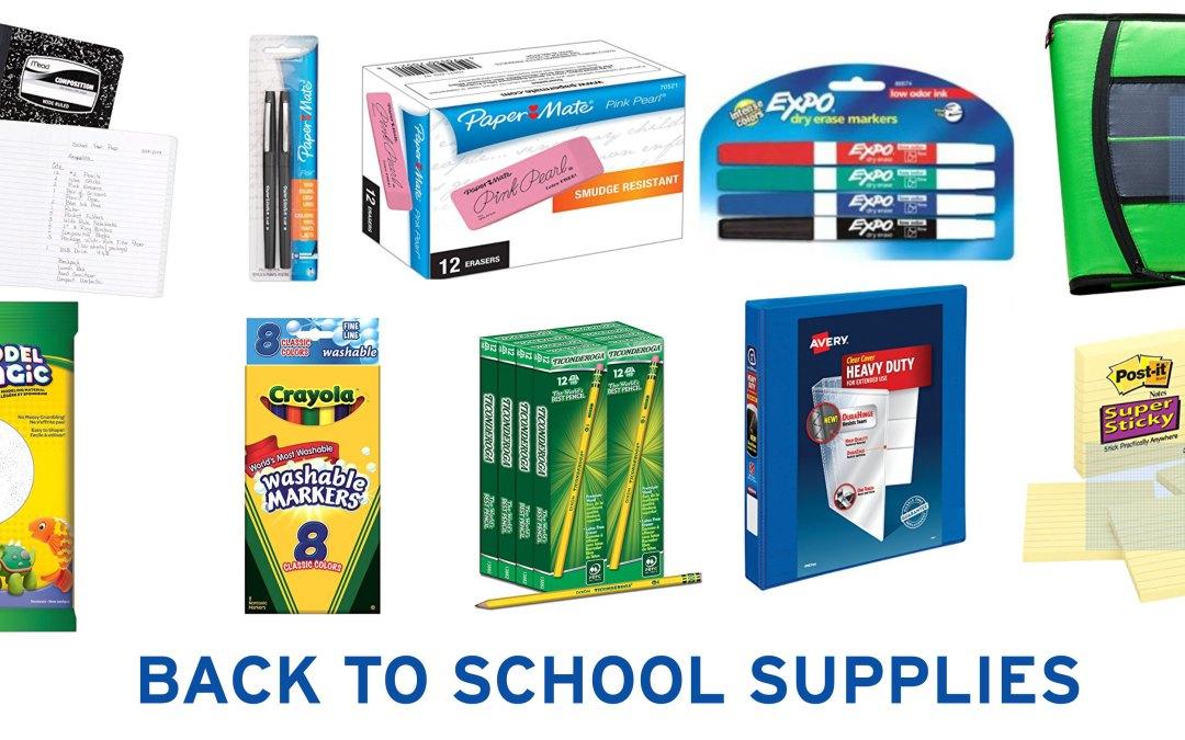 School Supply Shopping at Amazon
