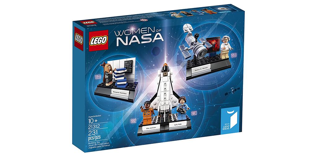 Women of Nasa Lego