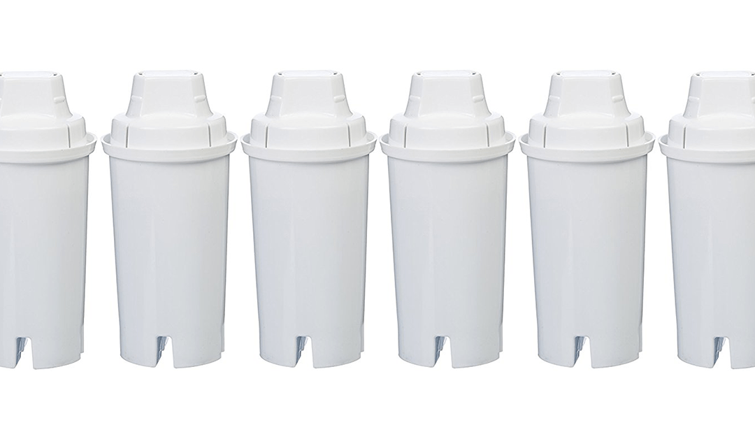Amazon BEST PRICE SUBSCRIBE & SAVE: AmazonBasics Replacement Water Filters for AmazonBasics & Brita Pitchers