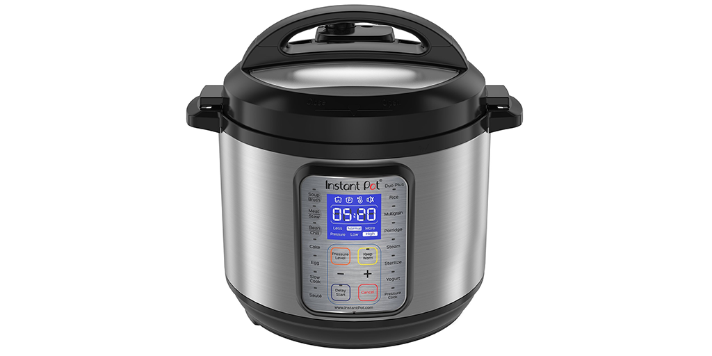 Amazon | BEST PRICE: Instant Pot DUO Plus 60, 6 Qt 9-in-1 Multi- Use Programmable Pressure Cooker, Slow Cooker, Rice Cooker, Yogurt Maker, Egg Cooker, Sauté, Steamer, Warmer, and Sterilizer