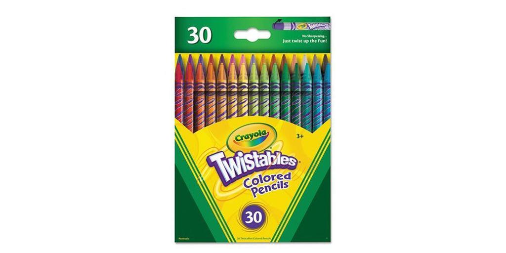 Amazon GOOD DEAL: Crayola Twistables