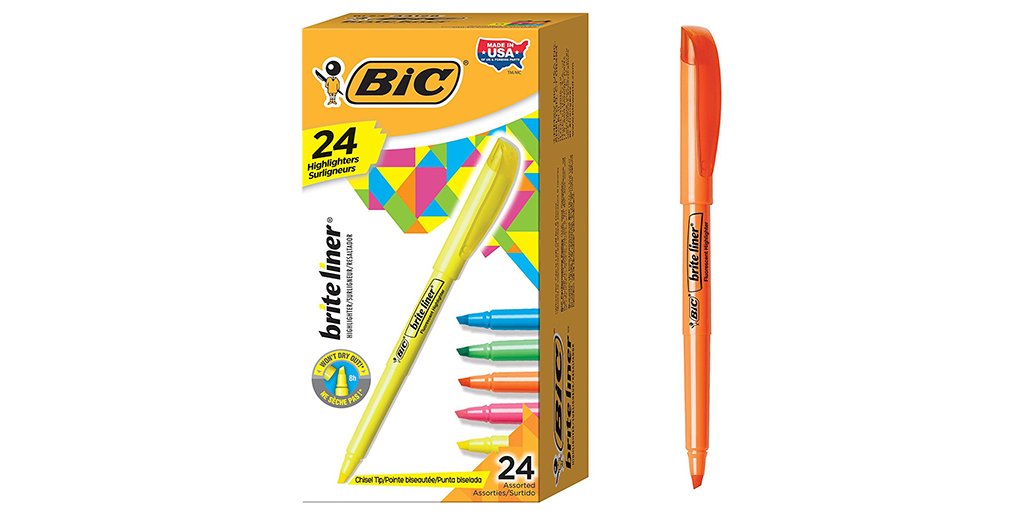 amazon deal of the day bic writing products for prime members kosher working mom dad. Black Bedroom Furniture Sets. Home Design Ideas