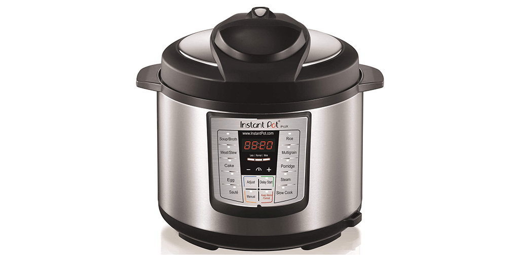 Amazon BEST PRICE: Instant Pot LUX60V3 V3 6 Qt 6-in-1 Multi-Use Programmable Pressure Cooker