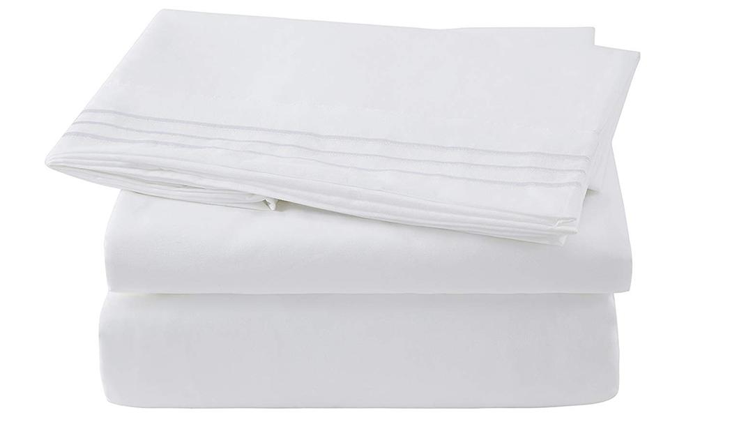 Amazon COUPON: Microfiber Bed sheet Set