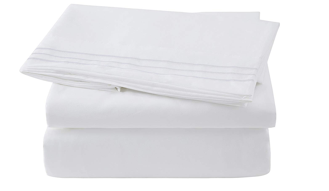 Amazon COUPON: Microfiber Bed sheet Set