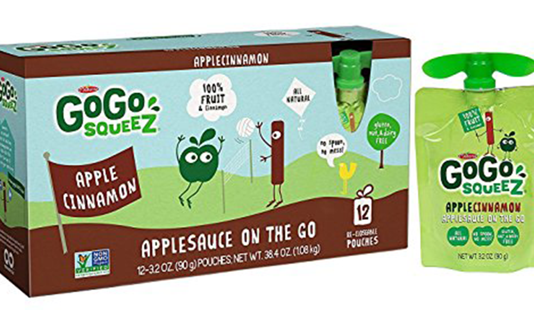 Amazon | GOOD DEAL: Cinnamon Apple GoGo Squeezers