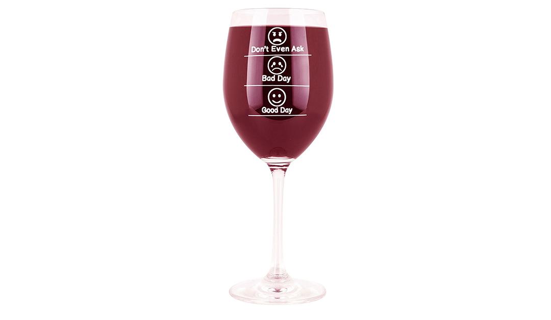 Amazon COUPON: Whimsical Wine Glass Gift