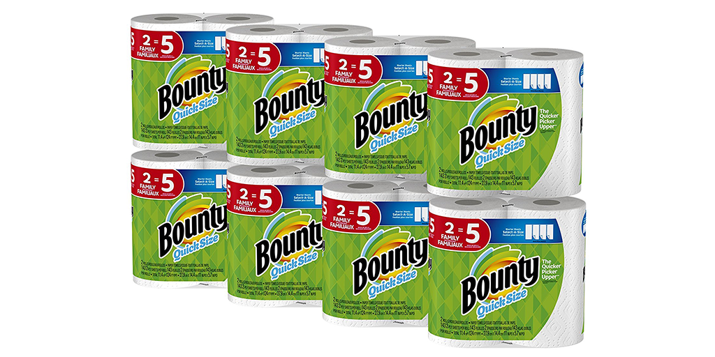 Amazon | GOOD DEAL + SUBSCRIBE & SAVE + COUPON: Bounty Towels