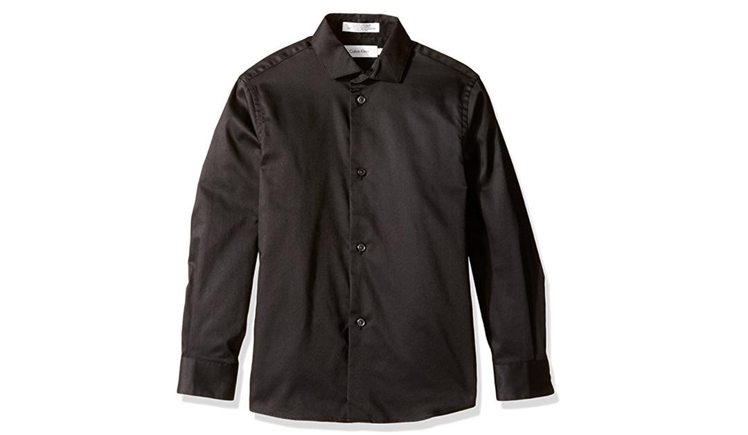 Amazon | BEST PRICE: Boys' Calvin Klein Dress Shirts