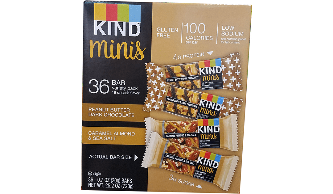 Amazon | BEST PRICE: Kind Mini Bars