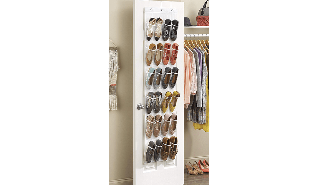 Amazon | GOOD DEAL + ADD ON: Over the Door Shoe Hang