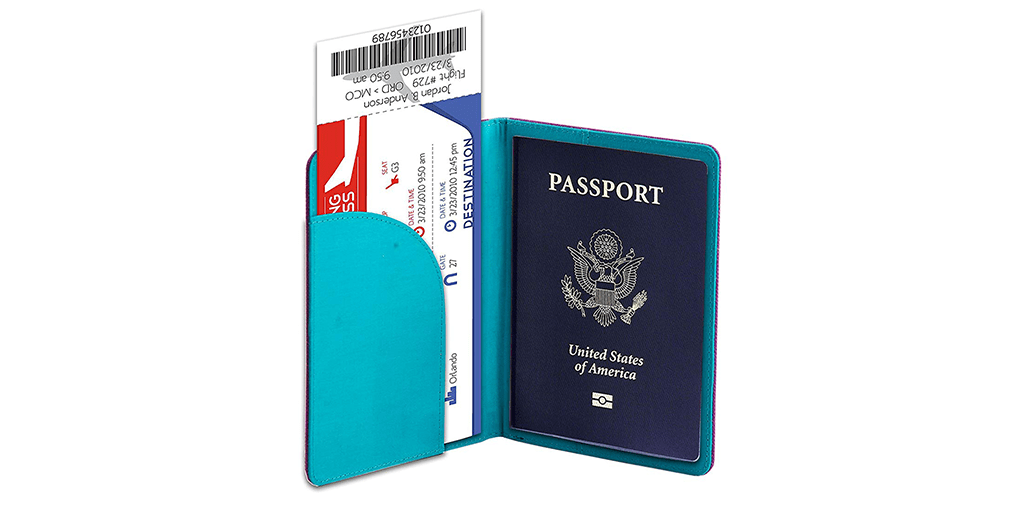 Amazon | DEAL + COUPON: 10% off RFID Passport Holder, Purses, and Coin Pouches