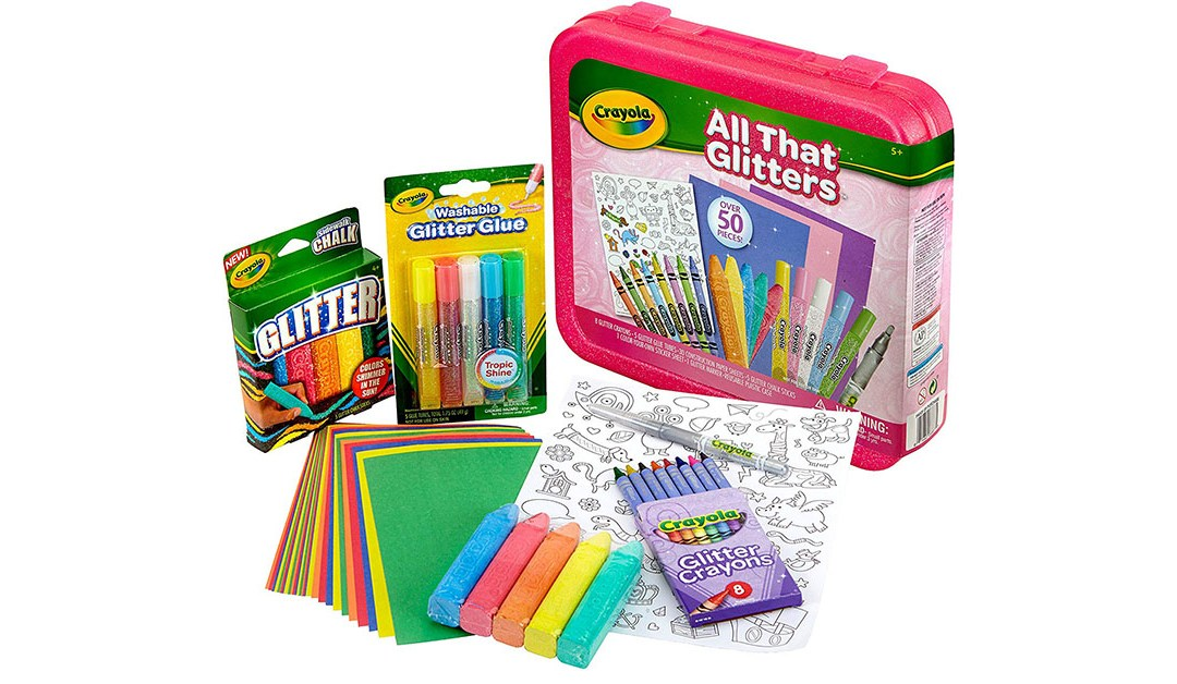 Amazon | GOOD DEAL: Crayola All That Glitters