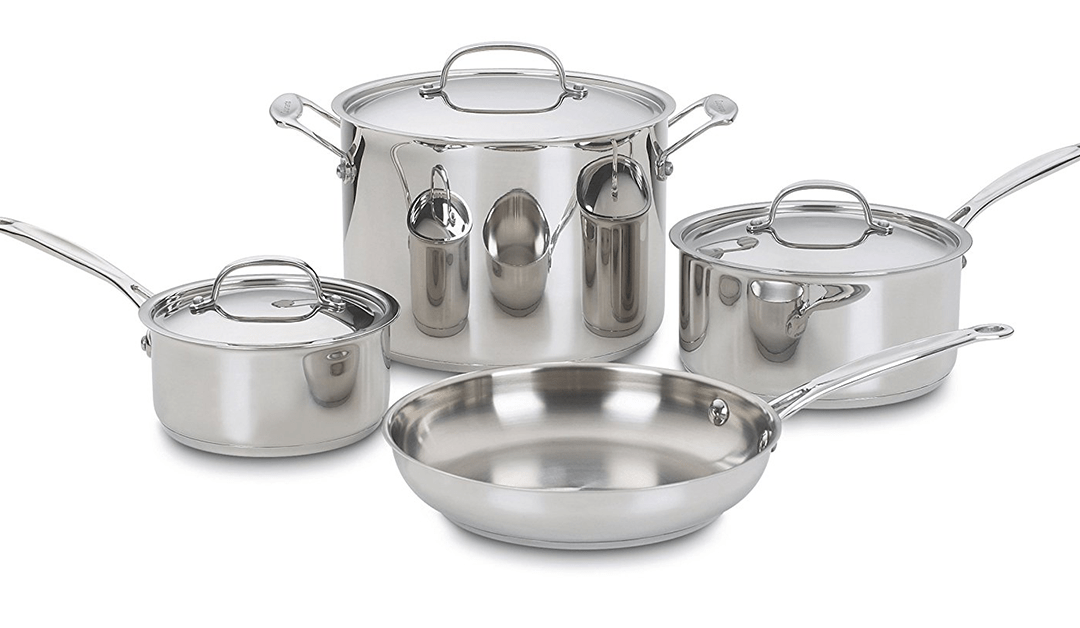 Amazon | BEST PRICE: 7-piece Cuisinart Pot Set